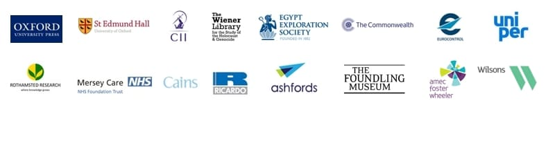 Just some of our clients...