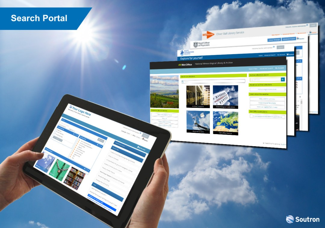 Soutron Search Portal Technology