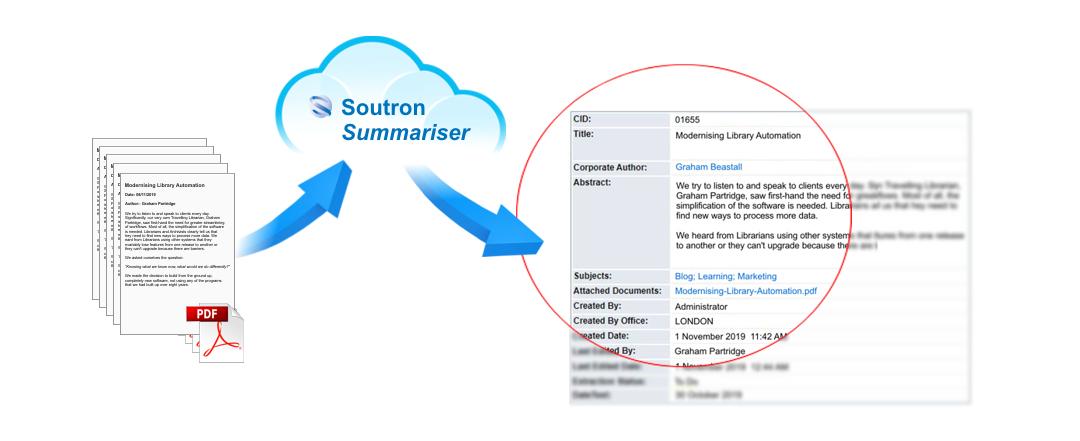 Soutron Word / PDF Metadata Summariser