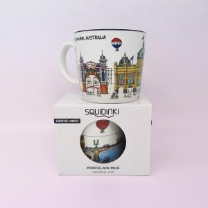 Melbourne mug and presentation box