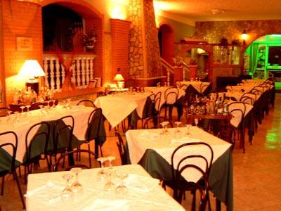 Sala del ristorante Delfino di Montepaone