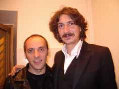 Michele Amadori con Sergio Cammariere