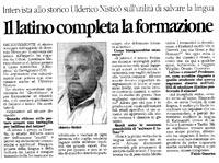 L'articolo pubblicato sul Quotidiano della Calabria