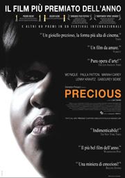 Locandina del film Precious, regia di Lee Daniels anno 2009