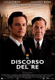 """Locandina del film """"il discorso del re"""""""