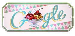 Gelato Sundae - Google doodle