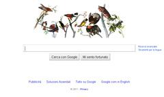 John James Audubon - Google Doodle