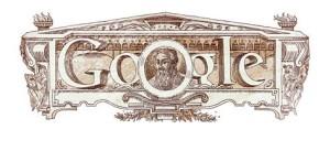 Doodle di Google per 500° anniversario della nascita di Giorgio Vasari