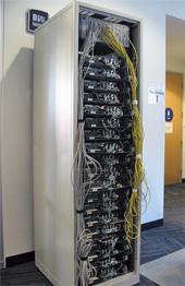 Foto del primo server di Google
