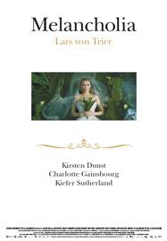 Locandina del film Melancholia di Lars Von Trier