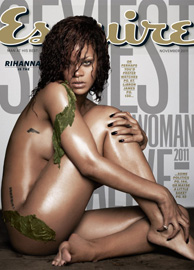 Rihanna - Copertina Esquire di novembre 2011