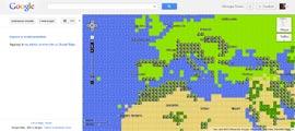 Google Maps 8 bit