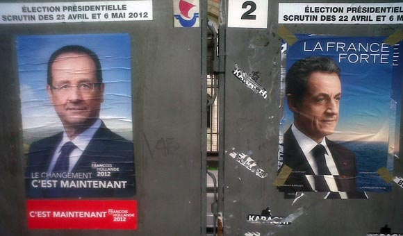 Hollande - Sarkozy - Photo: Claudio Viscomi