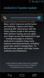 Android 4.2 Yakju per Galaxy Nexus