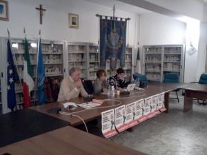 da sinistra Gianni Calabretta, Ida Dominijanni e Teresa Pittelli