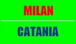Milan-Catania, domenica 28 aprile 2013 - ore 20,45