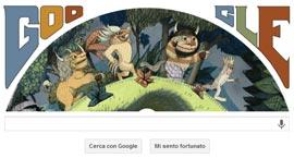 Google Doodle - Maurice Sendak