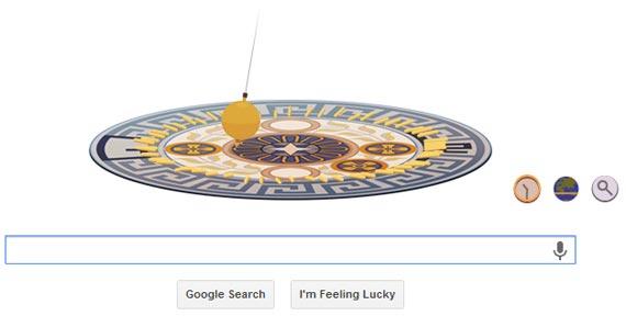 Google Doodle - Léon Foucault