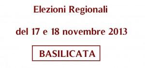 elezioni regionali 2013 basilicata