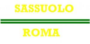 sassuolo - roma