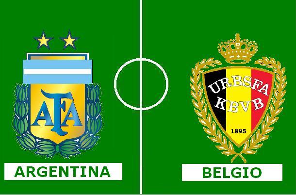 argentina vs belgio