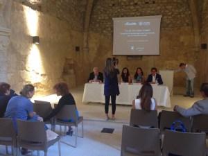 Un flash della conferenza stampa indetta per la presentazione dell'iniziativa