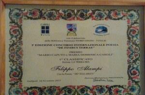 premio a filippo alampi