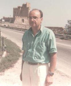 Prof. Romano Ciluzzi ai tempi del Liceo