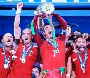 10 lug. 2016 - Portogallo Campione d'Europa