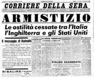 La Patria è morta, 8 settembre 1943