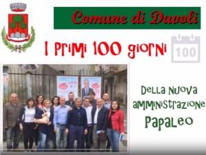 VIDEO | Davoli, i primi cento giorni dell'amministrazione Papaleo
