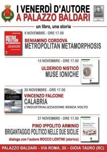Gioia Tauro – I Venerdì d'Autore a Palazzo Baldari