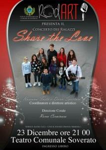 """Stasera al Teatro di Soverato concerto """"Share the Love"""""""