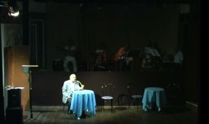 Vincenzo Guarna in scena al Teatro del Grillo di Soverato