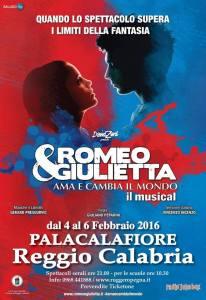 """Reggio Calabria – Conto alla rovescia per l'Opera Musicale """"Romeo e Giulietta – Ama e cambia il mondo"""""""