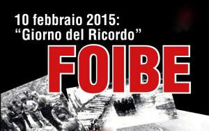 foibe - giorno del ricordo - 10 febbraio