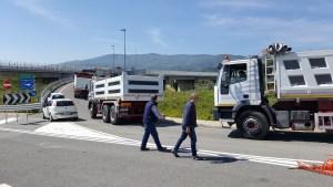 Trasversale delle Serre, al via le prove di carico sul lotto Gagliato-Argusto