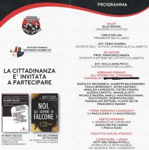 """Sabato 14 maggio a Soverato il premio """"Giancarlo Siani"""""""