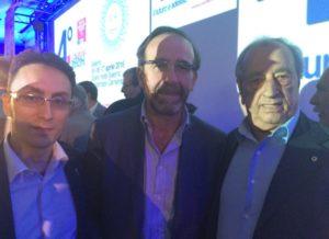 Alessandro Tassoni, il Segretario Nazionale Riccardo Nencini, Piero Amato
