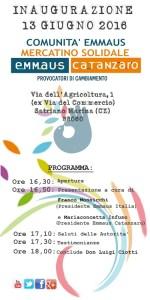 A Satriano Marina la prima comunità Emmaus del Sud Italia