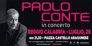 Grande attesa per il concerto di Paolo Conte a Reggio Calabria