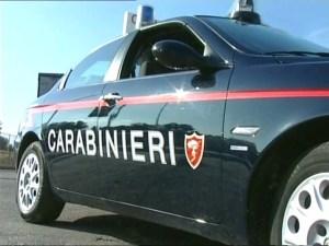 Minaccia carabinieri con una falce, arrestato