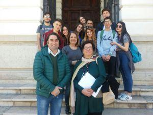 Studenti del Liceo Scientifico di Soverato in visita a Reggio Calabria per l'approfondimento sul Liberty