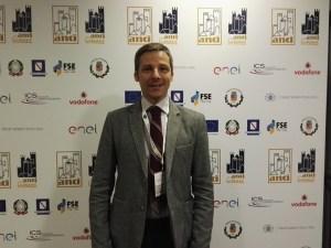 Il consigliere comunale di Tiriolo Davide Longo presente all'Assemblea Nazionale Anci Giovani di Salerno