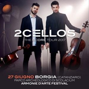 I 2Cellos salutano la Calabria in un video dedicato