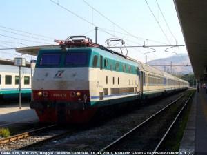 Dall'11 giugno istituita fermata a Bologna Centrale per l'InterCity Notte TO-RC