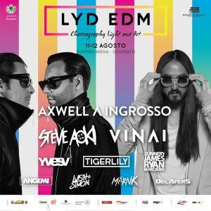 Anche Axwell/\Ingrosso al LYD-EDM Festival alla Summer Arena di Soverato