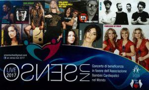"""""""Un Senso…Live 2017"""", concerto di beneficenza il 20 luglio a Soverato"""