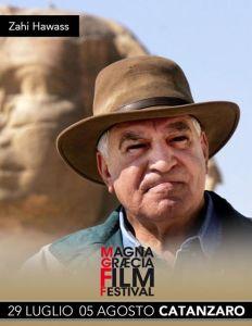 Zahi Hawass al Magna Graecia Film Festival