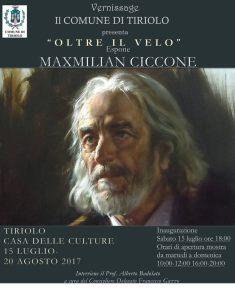 """A Tiriolo la mostra d'arte """"Oltre il velo"""" del pittore Maxmilian Ciccone"""